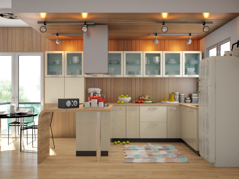 Adsila U Shaped Modular Kitchen Designs India Homelane